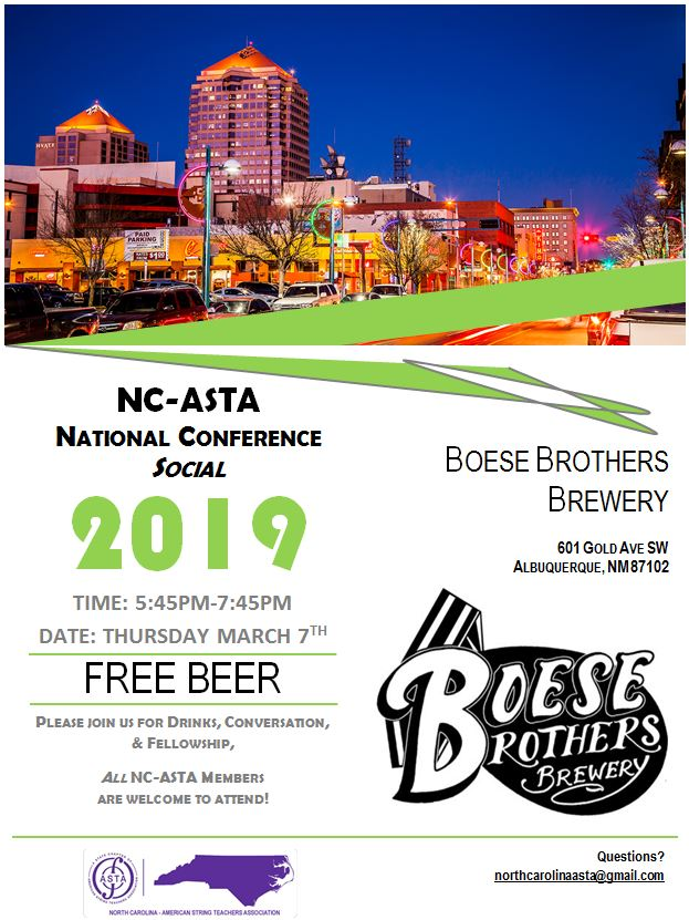 boese brothers ncasta reception 2019