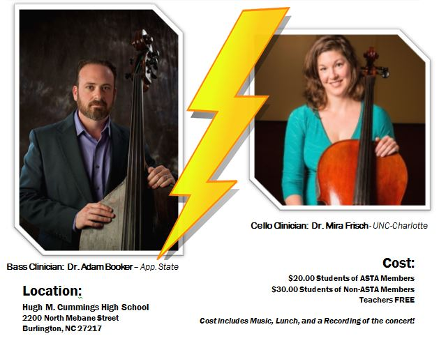 Cello Bass Day Graphic